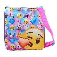 Girls Emoji Passport Crossbody
