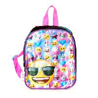 Girls Emoji Mini Backpack , Pink