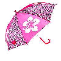 Girls Fantasia Zebra Flower Umbrella , Pink