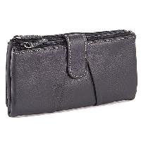 Mundi Rio Heather Soft Clutch , Black