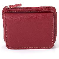 Mundi Leather Mini Wallet , Brown