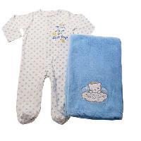 Baby Boy (3-9M) Baby Starters Thank Heaven Sleeper 3 Months, Blue