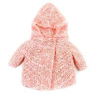 Baby Girl (NB) Baby Dove Sweater Jacket Newborn, Pink