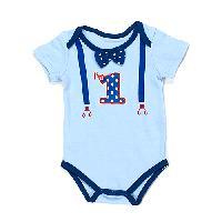 Baby Boy so'dorable First Birthday Bodysuit , Blue