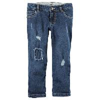 Girls (4-6x) Carter's Destructed Boyfriend Jeans 4, Denim