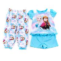 Toddler Girl Disney Elsa & Anna Frozen Pajama Set 2T, Blue