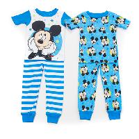 Toddler Boy Disney Mickey Dream Big 4pc. Sleep Set 2T, Blue