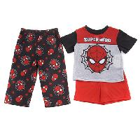 Toddler Boy Spider-Man Super Hero 3pc. Pajama Set 2T, Red/Black