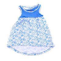 Toddler Girl Kidz Concepts Flower Print Dress 2T, Hydrangea