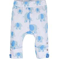 Baby Boy (0-24M) MiracleWear Elephant Pants 0-6 Months, Blue