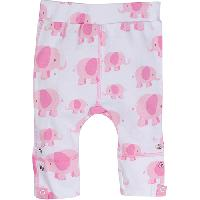Baby Girl (0-24M) MiracleWear Pink Elephant Pants 0-6 Months, Pink