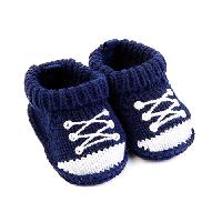 Baby Boy (NB) Carter's(R) Sneaker Bootie Socks Newborn, Blue