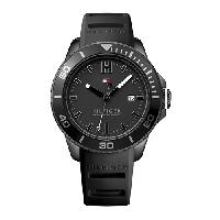 Mens Tommy Hilfiger 3 Hand Watch - 1791265 , Black