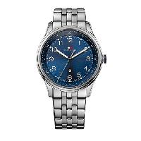 Mens Tommy Hilfiger 3-Hand Watch - 1710308 , Silver