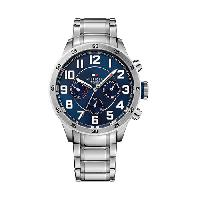 Mens Tommy Hilfiger Multi-Eye Watch - 1791053 , Silver