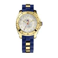 Ladies Tommy Hilfiger 3-Hand Watch - 1781307 , Navy/Gold