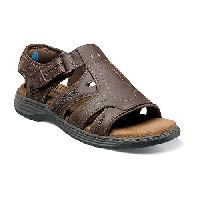 Nunn Bush Ritter Fisherman Sandals - Brown 10 M, Brown
