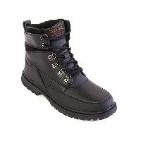 London Fog Camden Boots 8 M, Black Pebble