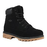 Lugz Empire HI Fleece WR Ankle Boots - Black/Gum 10 D, Black/Gum