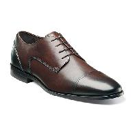 Florsheim Jet Cap Toe Oxfords  Brown 10.5 EEE, Brown