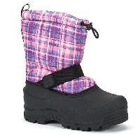 Girls Northside - Frosty Waterproof Boots 1, Purple Plaid