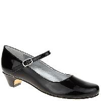 Girls Nina Seeley Mary Janes - Black 1, Black