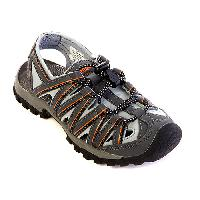 Boys Northside Santa Cruz Sandals 1, Grey/Orange