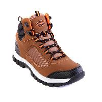 Boys Goodyear Colt-C Hiking Boots 1.5, Brown/Black