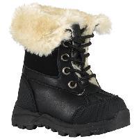 Toddler Girls Lugz Tambora Ankle Boots - Black 10 D, Black/Cream