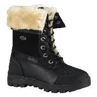 Big Girls Lugz Tambora Ankle Boots -  Black/Cream 3.5 D, Black/Cream