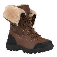 Big Girl's Lugz Tambora Ankle Boots -Vintage Brown 3.5 D, Brown/Black/Cream