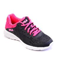 Girls Fila Finity Athletic Sneakers 1, Dark Shadow Grey / Pink