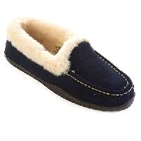 Clarks Mandy Faux Fur Loafer Slippers 6 M, Brown