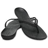 Crocs(tm) Isabella Flip Flops- Black 10 M, Black