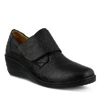 Spring Step Corvo Wedged Loafers  Black 42, Black