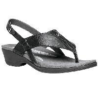 Propet(R) Mariko Flip Flop Sandals - Black 6 M, Black