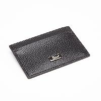 Royce Leather Slim Credit Card Wallet - Black , Black