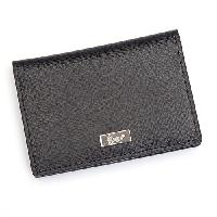 Royce Leather RFID Coin & Credit Card Case - Black , Black