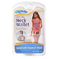Cloudz Security Neck Wallet