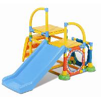 Grow'n Up Climb'n Slide Gym