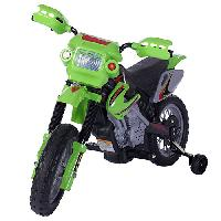 Fun Wheels Battery Operated Motorcycle - Green , Green