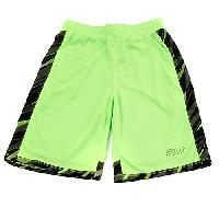 Boys (8-20) Fila Print Mania Shorts 10/12, Green Gecko