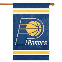 Party Animal Indiana Pacers Applique Banner , Blue