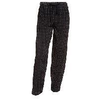 IZOD Geometric Print Pajama Pants L, Black