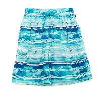 Young Mens Blue Gear Surfer E-Board Shorts M, Jade