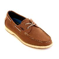 Freeman Cadet Boat Shoes 8.5 D, Brown