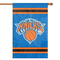 Party Animal New York Knicks Applique Banner , Blue