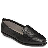 Aerosoles Betunia Loafers - Black Leather 10 M, Black Leather