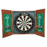 Franklin(R) Sports Bristle Dartboard With Cabinet