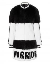 "fur coat ""warrior"""